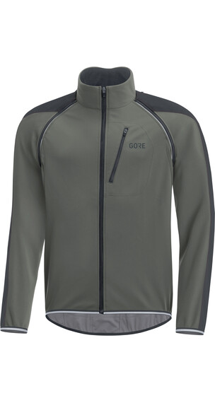 GORE WEAR C3 Windstopper Phantom Zip-Off Jacket Men castor grey/black